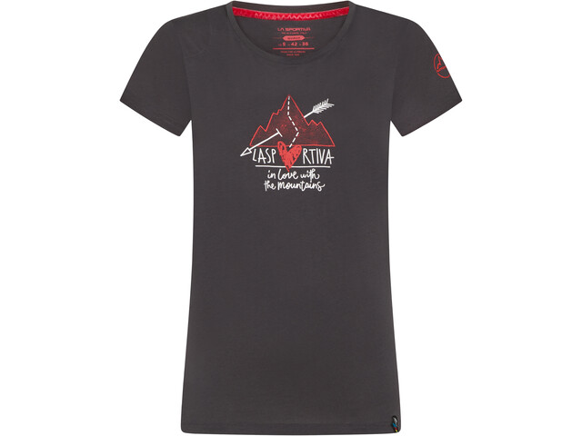 La Sportiva Alakay T-Shirt Femme, carbon